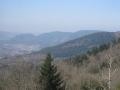 Vosges - Gites du Haut de Moyemont : Vue panoramique sur la vallée de Vagney