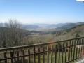 Vosges - Gites du Haut de Moyemont : Vue sur la vallée depuis la terrasse du gîte Refugee depuis la terrasse du gîte Refuge